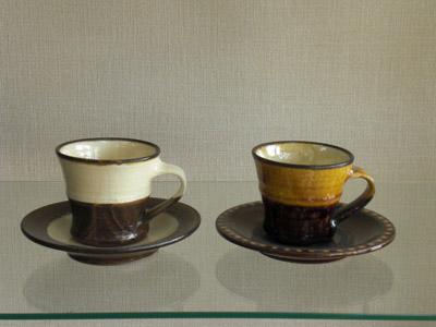 小代焼(ふもと窯)(井上尚之作) コーヒー碗 各種