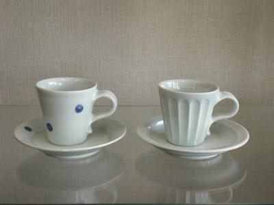 艸茅窯(川野恭和作) コーヒー碗