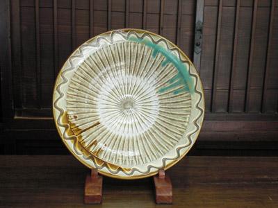 小鹿田焼 皿類各種(径41)