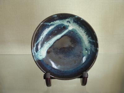 小代焼(ふもと窯) 皿(径21)