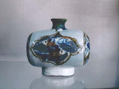 俵壺(高18.5×径20)