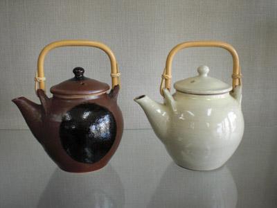 出西窯 土瓶(胴11×高14)