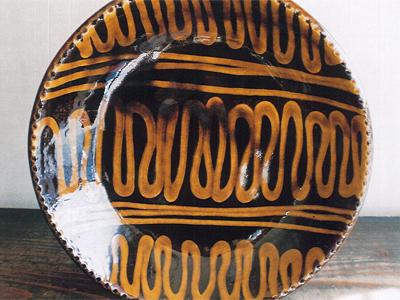 山根窯(石原幸二作) 皿類(スリップウエア)