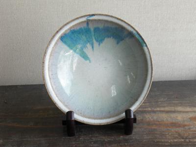 会津本郷焼 浅鉢(径21)